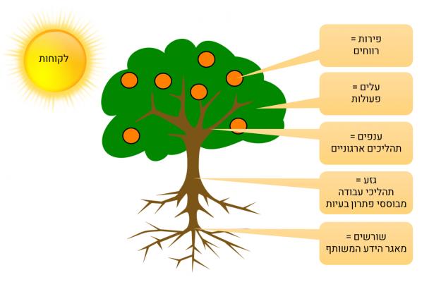 מבנה ארגוני - הארגון כעץ